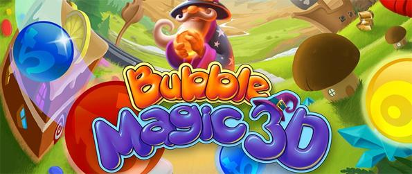Burbuja mágica 3D - Entra en un mundo de 3D ​​Bubble Shooting Magic!