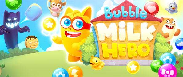 Bubble Milk Hero - Disfrute de un nuevo shooter exclusivo de burbujas con un montón de divertidos giros.